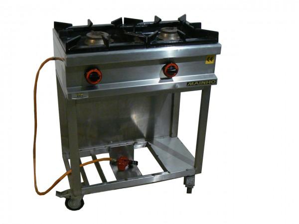 2-Flammen-Gasherd/ Gaskocher