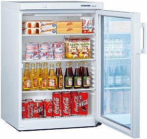 Kühlschrank mit Glastür-klein