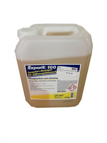 Exporit 100 Gläserreiniger Kanister