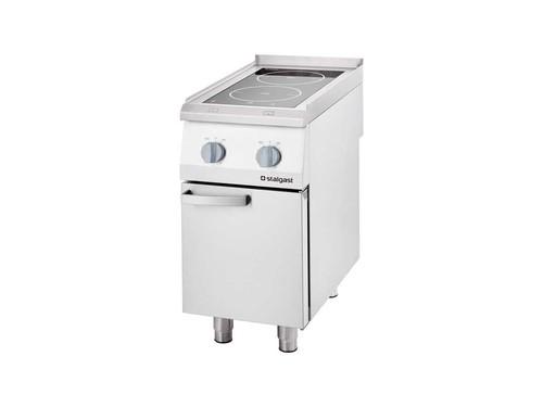 Induktionsherd Gastronomie 2-Kochstellen 7,5 kW