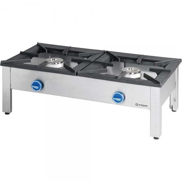 Hockerkocher Doppelbrenner Gas (Erdgas E20)
