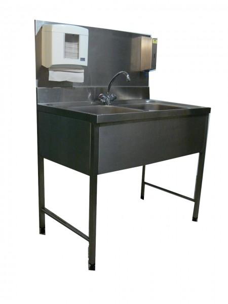 Hygienestation mit 2 Becken