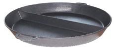 Großpfanne/ Paellapfanne 80cm mit Teilung
