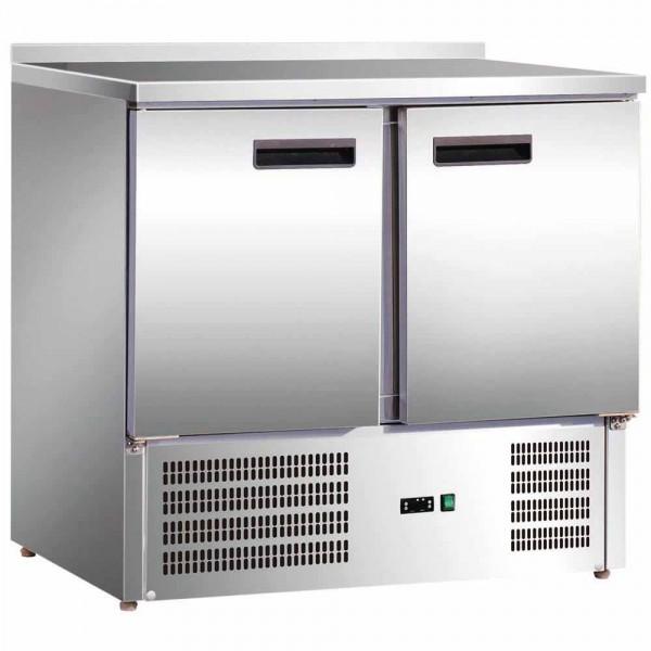 Kühltisch mit 2 Türen 900 x 700 x 880 mm